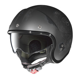 Casco Jet Nolan N21 SPEED JUNKIES 33 negro asfalto