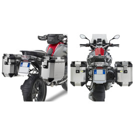 Soportes laterales Givi Trekker Outback para BMW R 1200 GS 13-18  /  Adventure | R 1250 GS 18-19