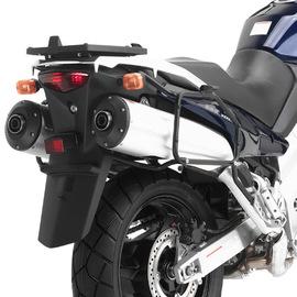 Soporte de maletas laterales Givi Monokey PL528 para moto Kawasaki KLV 1000 04-10 y Suzuki DL 1000 V-Strom 02-11