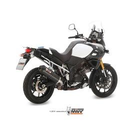 Escape homologado Mivv Oval Carbono para Suzuki DL V-STROM 1000 14-20/DL V-STROM 1050 20-20