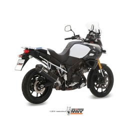 Escape homologado Mivv Speed Edge Acero negro para Suzuki DL V-STROM 1000 14-20/DL V-STROM 1050 20-20