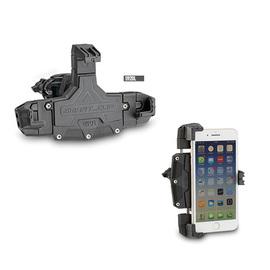 Soporte pinza universal porta smartphone dimensiones externas: mínimo 144 x 67mm