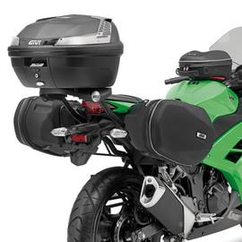 Soporte de alforjas laterales Givi TE4108 compatible con las alforjas rígidas ST609 para Kawasaki Ninja 300 13-18
