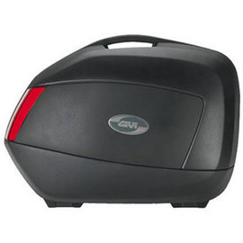 Juego de maletas laterales Givi V35 Color Negro Mate