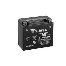 Batería moto Yuasa YTX20L-BS sin mantenimiento