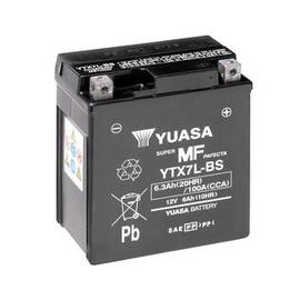 Batería moto Yuasa YTX7L-BS sin mantenimiento