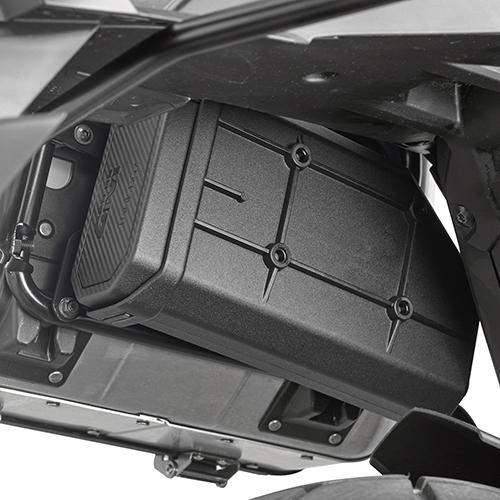 Kit específico para el montaje del S250 Tool Box para soporte PL1156 y PL1158 Honda X-ADV 2017