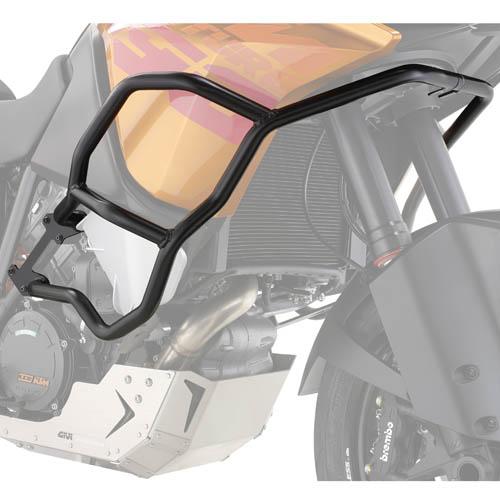 Defensas de motor Givi TN7703 para moto KTM 1050 Adventure 2015 y KTM 1190 Adventure / R 2013>
