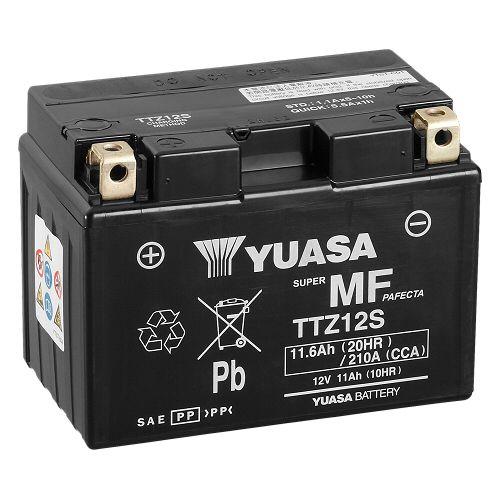 Batería moto Yuasa TTZ12-S sin mantenimiento
