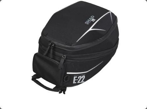 Bolsa sobredepósito Shad E22 de 22 Lts