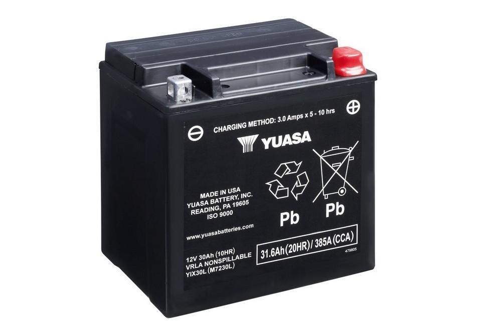 Batería Yuasa YIX30L Alto rendimiento