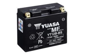 Batería moto Yuasa YT12B-BS sin mantenimiento