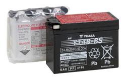 Batería moto Yuasa YT4B-BS sin mantenimiento