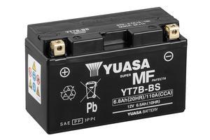 Batería moto Yuasa YT7B-BS sin mantenimiento
