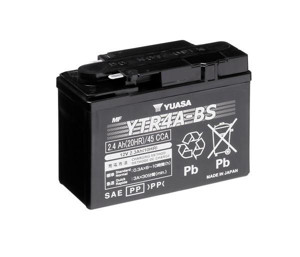 Batería moto Yuasa YTR4A-BS sin mantenimiento
