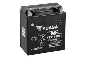 Batería moto Yuasa YTX16-BS-1 sin mantenimiento