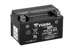 Batería moto Yuasa YTX7A-BS sin mantenimiento