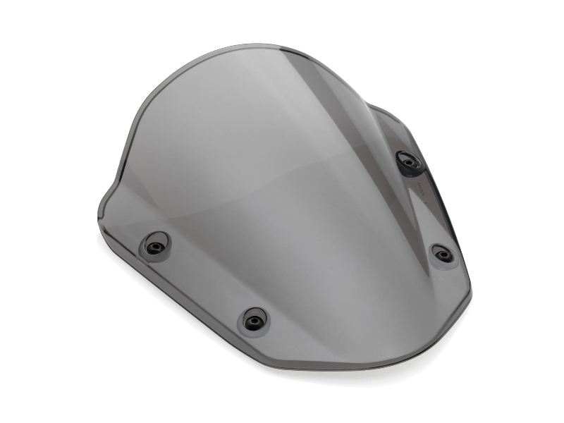 Cúpula de policarbonato semitransparente negro Rizoma para Yamaha MT09/FZ09 13> | MT-07/FZ-07 14-17